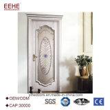 [سليد ووود] زجاجيّة باب داخليّ تصميم الصين صاحب مصنع