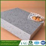 Lastra grigia della pietra del quarzo della scintilla per il controsoffitto