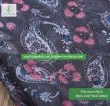 Manier van de Sjaal van de Cachou van de Viscose van 100% de Bloemen Afgedrukte Dame Moslem Scarf