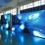 L'ouverture avant p10 LED fixe Affichage sur le mur vidéo de plein air