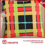 Coperchi decorativi su ordinazione dell'ammortizzatore della cassa dei cuscini di manovella del plaid del regalo di promozione