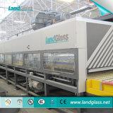 Landglassのジェット機の対流の倍区域の板ガラスの強くなる機械