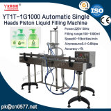Machine de remplissage liquide de piston principal simple automatique (YT1T-1G1000)