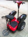 4개의 바퀴 상자 큰 4개의 바퀴 기동성 스쿠터를 가진 전기 2륜 전차 스쿠터