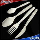 Cutlery PS установленной устранимой пластмассы Flatware качества еды сверхмощный