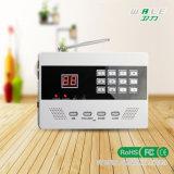 Sistema de alarma sin hilos del G/M del Muti-Lenguaje con la función del APP