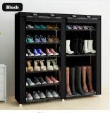 Equipamento para Engraxar os Sapatos de armário de racks de grande capacidade de armazenamento de dados móveis domésticos DIY Rack Sapata portátil simples (FS-03C)