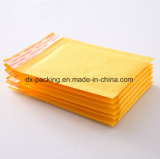 Sacchetto espresso della busta del sacchetto di bolla del sacchetto di bolla del sacchetto di colore giallo del sacchetto del pacchetto dell'involucro di bolla della busta della bolla