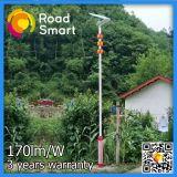 170lm/W intelligente LED Solarstraßen-Park-Lichter mit Bewegung Senosr