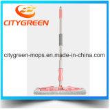 Mop Microfiber плоский с телескопичной нержавеющей сталью
