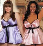 Sexy Женское нижнее бельё горячих женщин Diaphanous Pajama Sleepwear бесплатная доставка плюс размер S M L XL 2XL 3XL 4XL 5XL 6XL