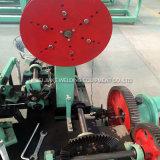 Doppelter Strang heißes BAD galvanisierte Stacheldraht-Maschine