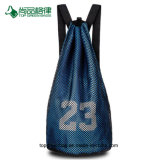 Personalize a grande capacidade de formação de Basquetebol Cordas mochila / Saco para roupa suja
