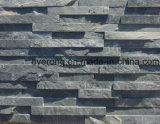 외부 쪼개지는 완성되는 검정 & 벽 클래딩을%s 실내 문화 슬레이트