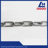 Nacm90 Cadena de eslabones de acero inoxidable estándar