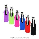 La domanda di mantiene dispositivo di raffreddamento freddo/caldo della bottiglia del neoprene del punto di zigzag