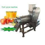 Het Sap die van de Wortel van Juicer van het Fruit van het Roestvrij staal van China de Machine van de Extruder maken