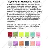 De beste Verkopende Vlieg die van 12 Kleuren het Materiële Accent Comobo binden van Flashabou van de verven-Parel