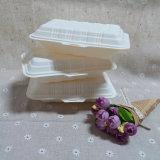 Устранимый Biodegradable поднос Takeaway контейнера еды кукурузного крахмала