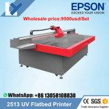 Impresora de cristal con la lámpara ULTRAVIOLETA del LED, de la máquina más barata impresora ULTRAVIOLETA Ly-2513