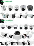 H. 265 H. 264の金属の箱IR CCTVネットワークIPのカメラ(KIP-400BX60H)