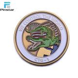 高品質の柔らかいエナメルカラーの顧客用挑戦硬貨
