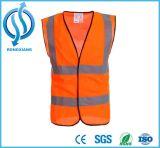 Hallo ANSI Vis Klasse 2 het Weerspiegelende Vest van de Riemen van de Veiligheid met de Druk van het Overhemd Customt