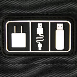 Sacchetto di nylon dell'organizzatore del cavo del USB di corsa del Mens dei nuovi accessori per elettronico