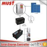 Nach Hause Luftkühlung Solarladung-Controller 12V 24V des Gebrauch-20A MPPT