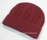 Gute Qualitätswollenbeanie-Hut-/Winter-Hut