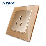 Type neuf fiches électriques de Livolo et plots Vl-W2c1b-11/12/13