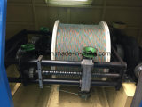 スカイブルー束ねる超良いワイヤーケーブルの組みひもBuncher Strander機械単一Dia 0.03mm - 0.32mmを残す