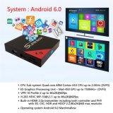 Androider intelligenter Empfänger des Fernsehapparat-E8 Kasten-IPTV mit S905X Vierradantriebwagen-Kern