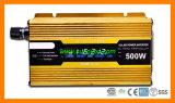 UPS를 가진 12V/24V 500W LCD 태양 변환장치