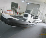 Liya 5-6m Hypalon steifer Rumpf-aufblasbares Rippen-Boot in China