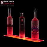 Supporto acrilico della visualizzazione del liquore di alcoolici di Lit del LED