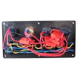 8 de Voltmeter Dubbele USB van het Comité van de Schakelaar van de Tuimelschakelaar van de troep voor de Mariene Boot 12V-24V van de Auto van rv