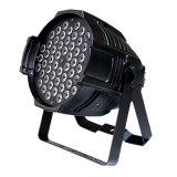 Les éclairages LED vendent la lumière en gros d'étape de la lumière RVB de PARITÉ de 54pcsx3w DEL