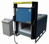 température élevée industrielle de 1600c 288liters chauffant le four à résistance électrique avec Mosi2 Rod