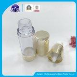 Kundenspezifische Firmenzeichen-kosmetische Lotion-Aluminiumflasche mit luftloser Pumpe
