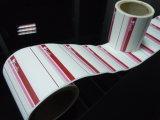 Spitzenverkaufenkennsatz-anhaftende thermische Plastikregal-Papierkennsätze