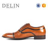 2018 La mode des chaussures en cuir véritable hommes chaussent