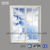 Grand prix usine en verre en aluminium de Windows de tissu pour rideaux