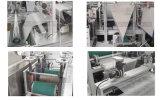 Wegwerf-PET über dem Schuh, der Maschine mit Ultraschall in China herstellt