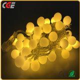Cadena de hadas LED luces de Navidad con los LEDs blancos en el cable de cobre de Bajo Precio Venta caliente