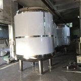 Acero inoxidable de alta calidad de capa simple depósito mezclador