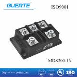 ISO9001の三相ダイオードのモジュールMds 300A 1600V