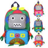 Sacchetto di banco bello di figura del robot di asilo dello zaino del fumetto dei bambini
