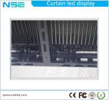 Напольная стена занавеса /LED экрана занавеса P15.625/видеоего фасада СИД средств