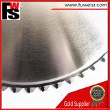 サーメットによってひっくり返された回状は棒鋼の切断については鋸歯285X72tを